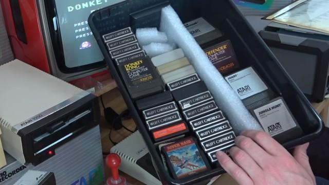 Wie alles angefangen hat - 1984 - von 4KB RAM zu Microsoft Windows 10 - Spiele-Module (Cartridges / Kassetten / ROM-Module) Sammlung für Atari XL