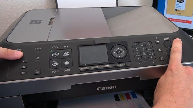 Canon Pixma Zähler zurücksetzen - Tintenauffangbehälter Resttintentank voll - Reset Service Tool 3400 - Drucker in den Service-Modus schalten