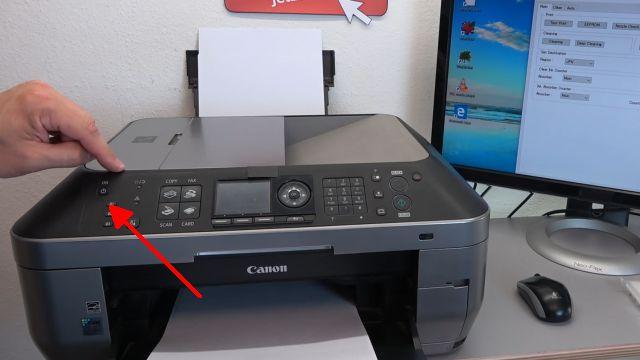 Canon Pixma Zähler zurücksetzen - Tintenauffangbehälter Resttintentank voll - Reset Service Tool 3400 - Drucker ausschalten