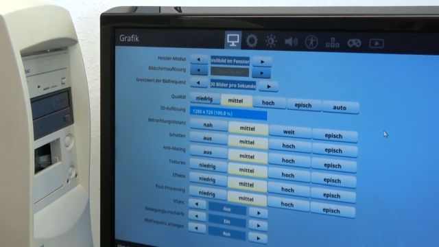 Fortnite auf kostenlosem Sperrmüll-PC - Fortnite optimale Grafikeinstellungen für dieses System