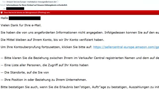 Meine erhaltenen Spam Emails der letzten Wochen - 17 nervige Mails - gefälschte Email - nicht von Amazon