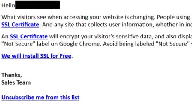 Meine erhaltenen Spam Emails der letzten Wochen - 17 nervige Mails - gefährliches falsches Zertifikat