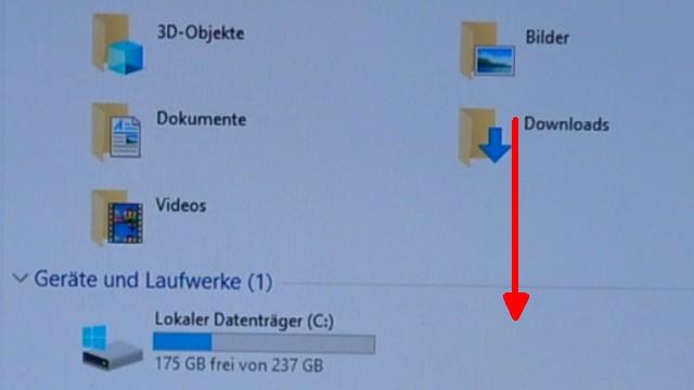 Windows 10 Laufwerk D ist voll - neuer Laufwerksbuchstabe nach Update - Diskpart - Laufwerk D entfernt