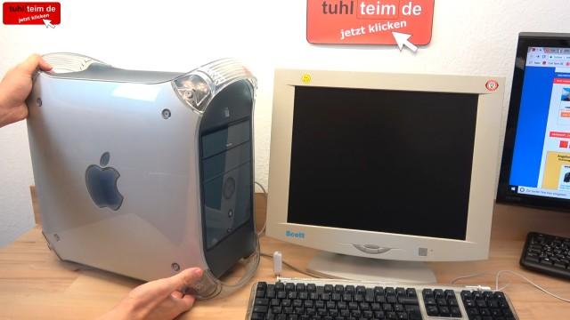 Apple Power Mac G4 für wenig Geld - Mac OS X - Mac OS Classic 9.2.2 - G4 aus dem Jahr 2001