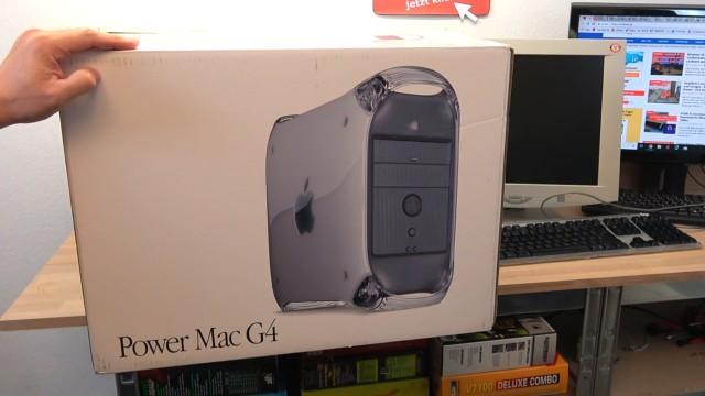 Apple Power Mac G4 für wenig Geld - Mac OS X - Mac OS Classic 9.2.2 - Originalverpackung