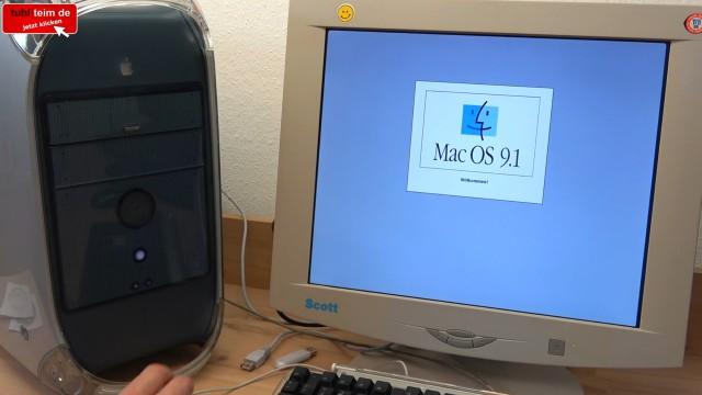 Apple Power Mac G4 für wenig Geld - Mac OS X - Mac OS Classic 9.2.2 - letzter Mac mit klassischem Mac OS