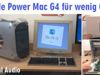 Apple Power Mac G4 für wenig Geld - Mac OS X - Mac OS Classic 9.2.2