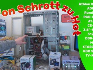 Von Schrott zu Hot – 17 Jahre Athlon XP 2000 BigTower wieder hygienisch lecker