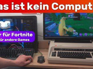 Das ist kein Computer - weder für Fortnite noch für andere Games