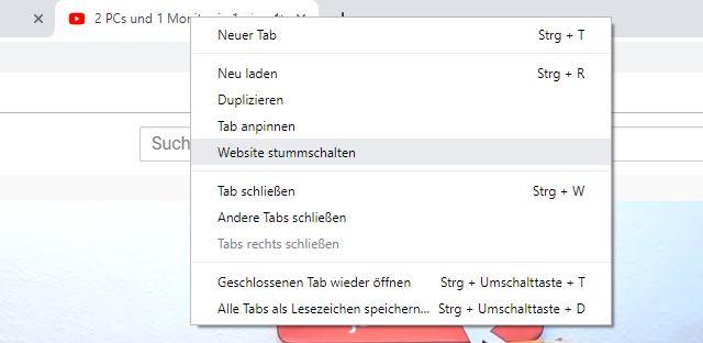 Google Chrome Kein Ton